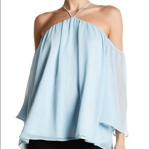 Lovers + Friends Cold Shoulder Blouse